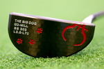 Gauge Design by Whitlam G2 Big Dog Black  Putter