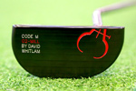 Gauge Design by Whitlam Code M Double-Bend Heel Shafted  Putter