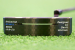 Gauge Design by Whitlam G2-Mill SoundSlot Black Blue  Putter