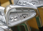 Callaway RAZR X-Forged NS.Pro 950GH Iron Set