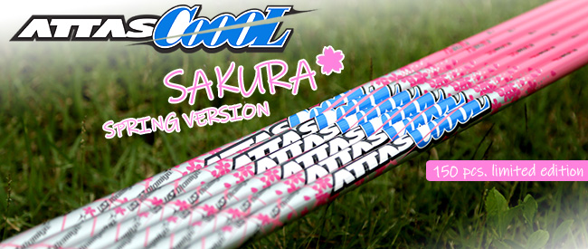 UST Mamiya ATTAS CoooL Sakura Spring Version